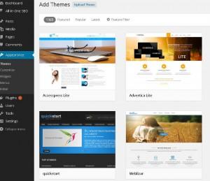 Having Trouble Choosing a Free WordPress Theme