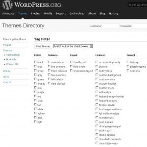 Choosing a Free WordPress Theme
